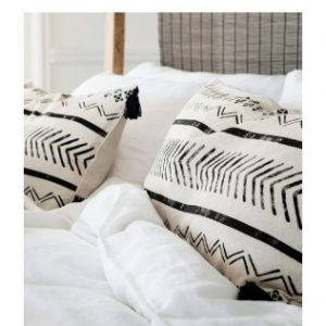 ALMOHADONES BLANCO Y NEGRO WISH HOUSE
