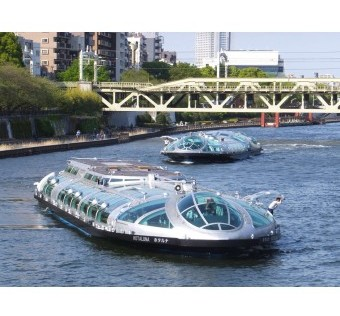 PASEO FLUVIAL EN TOKIO