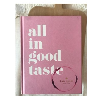 LIBRO ALL IN GOOD TASTE DIDOT